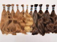 Různé barvy evropských vlasů