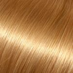 Evropské vlasy, medová blond, 25-30cm, k prodloužení vlasů