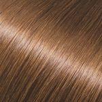 Evropské vlasy, světle hnědá, 45-50cm, k prodloužení vlasů