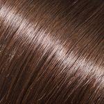 Evropské vlasy, hnědá, 60-65cm, k prodlužování vlasů
