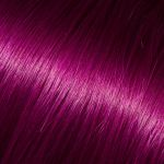 Barevné pramínky, fialová, délka 50-60cm