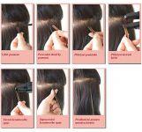 Postup prodlužování vlasů